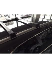 Багажник на интегрированные рейлинги CrossWing хром