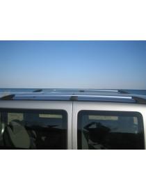 Рейлинги Fiat Doblo 2000-2010 /длинн.база /Хром /Abs
