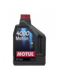 Моторное масло Motul 4000 MOTION 10W-30 2 л.