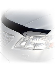 Дефлектор капота (мухобойка) AUDI A4/S4, 2009-, темный