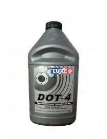 Тормозная жидкость DOT-4 LUXЕ 800г сереб.кан