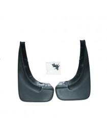 Брызговики для Fiat Albea SD (02-) задние комплект Norplast