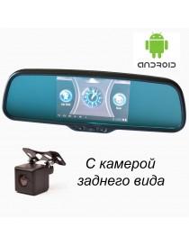 """Зеркало """"Prime-X"""" 043/105 штатное со встроенным видеорегистратором, GPS, Android"""