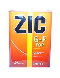 Масло трансмиссионное ZIC SK G-F TOP 75W-85 (Канистра 4л)