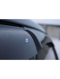 Дефлекторы окон (ветровики) BMW 7 Sd (F01/F03) 2008