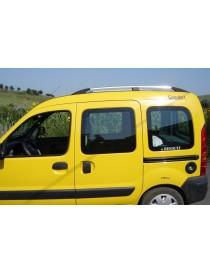 Рейлинги Renault Kangoo 1997-2008 /Хром /Abs