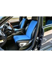 Комплект накидок на сидения Standart синие