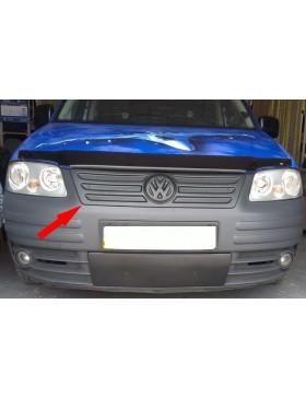 Зимняя накладка (матовая) Volkswagen Caddy 2004-2010 (верх решетка)