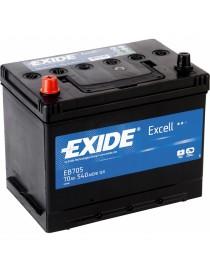 Аккумулятор 70Ah-12v Exide EXCELL(266х172х223),L,EN540