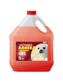 Антифриз АЛЯSКА ANTIFREEZE-40 (красный) 5л