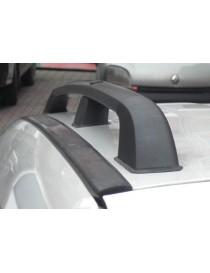 Рейлинги Volkswagen Caddy MAXI 2004- /Черный /Abs
