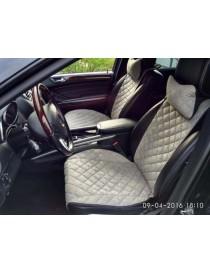 Накидки на передние сидения Premium серые