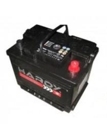 Аккумулятор 65Ah-12v HARDY DISEL (242x175x190),L,EN600