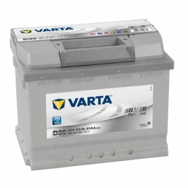 Аккумулятор 63Ah-12v VARTA SD(D39) (242x175x190),L,EN610