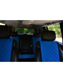 Комплект накидок на сидения Premium синие