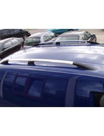 Рейлинги Peugeot Partner 1996-2008 /Хром /Abs/крепление клей