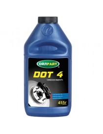 Тормозная жидкость DOT-4 OIL RIGHT 390г