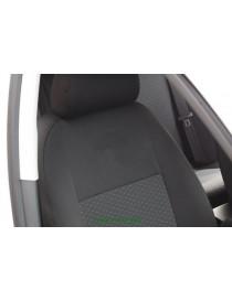 Чехлы салона Chevrolet Aveo htb 3D с 2008 г, /Черный