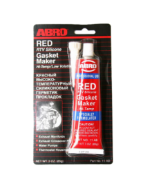Герметик прокладок высокотемпературный красный ABRO 11-AB-32R