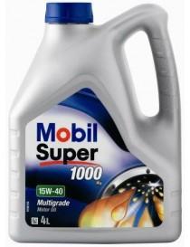 Масло моторное Mobil Super 1000x1 15W-40 API SL/CF (Канистра 4л)