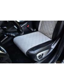 Комплект накидок на сидения Standart серые