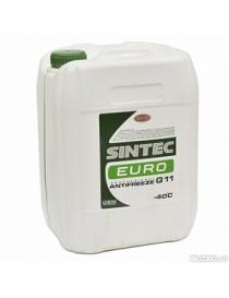 Антифриз Sintec ANTIFREEZE EURO G11 зеленый (Канистра 10л)