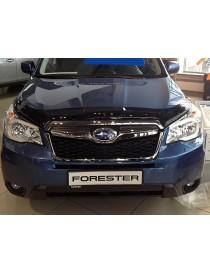 Дефлектор капота (мухобойка) Subaru Forester 2013-