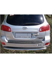 Защита задняя Hyundai Santa fe с 2006… /ровная