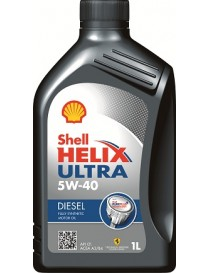 Масло моторное SHELL Helix Diesel Ultra SAE 5W-40 CF (Канистра 1л)