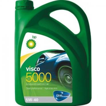Масло моторное BP Visco 5000 5W-40 API SL/CF (Канистра 1л)