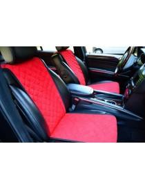 Комплект накидок на сидения Standart красные