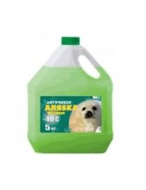 Антифриз АЛЯSКА ANTIFREEZE-40 (зеленый) 10л