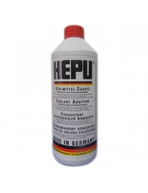 Антифриз HEPU G12 READY MIX RED -37C (Канистра 1,5л)