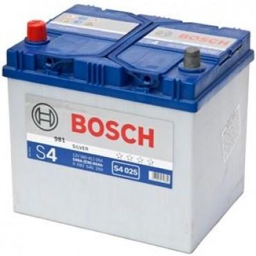 Аккумулятор 60Ah-12v BOSCH (S4025) (232x173x225),L,EN540(Азия)