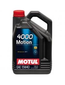 Моторное масло Motul 4000 MOTION 15W-40 4 л.