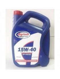 Масло моторное Агринол HP-DIESEL 15W-40 CG-4/SJ (Канистра 5л)