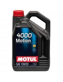 Моторное масло Motul 4000 MOTION 15W-40 5 л.
