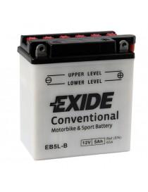 Аккумулятор 5Ah-12v Exide (EB5L-B) (120х60х130) R, EN65