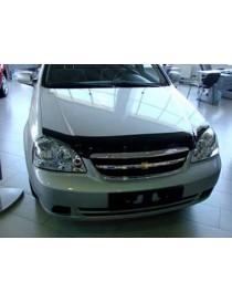 Дефлектор капота (мухобойка) Chevrolet LACETTI sedan, wagon 2004-