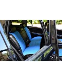 Накидки на задние сидения синие