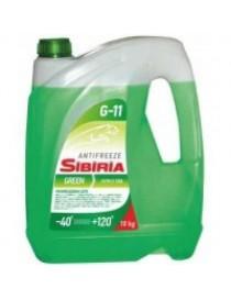 Антифриз SIBIRIA ANTIFREEZE ОЖ-40 G11 (зеленый) 10кг