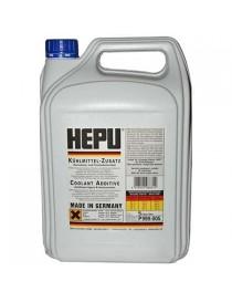 Антифриз HEPU G11 FULL YELLOW (Канистра 5л)