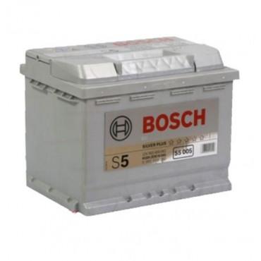 Аккумулятор 63Ah-12v BOSCH (S5005) (242x175x190),R,EN610