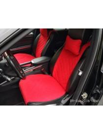 Комплект накидок на сидения Premium красные